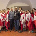Cirko Vertigo anima del Capodanno a Firenze in Piazza dell Signoria
