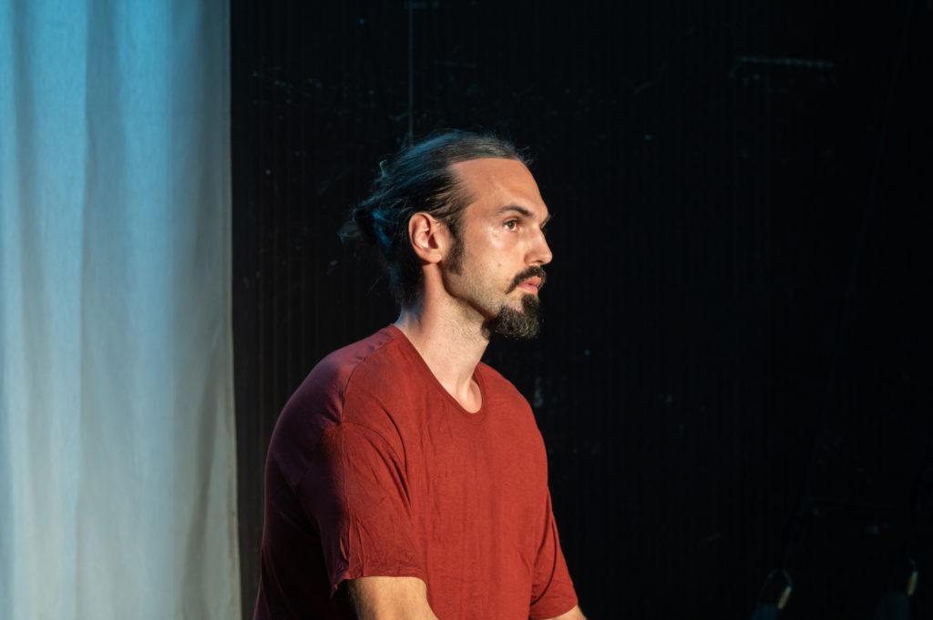 Vladimir Ježić in residenza artistica al Perempruner con The Serpent of Old<em> // ph Andrea Macchia</em>